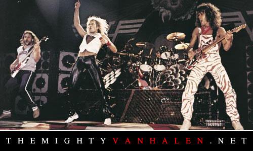 1982 Dancing In The Street Single Van Halen