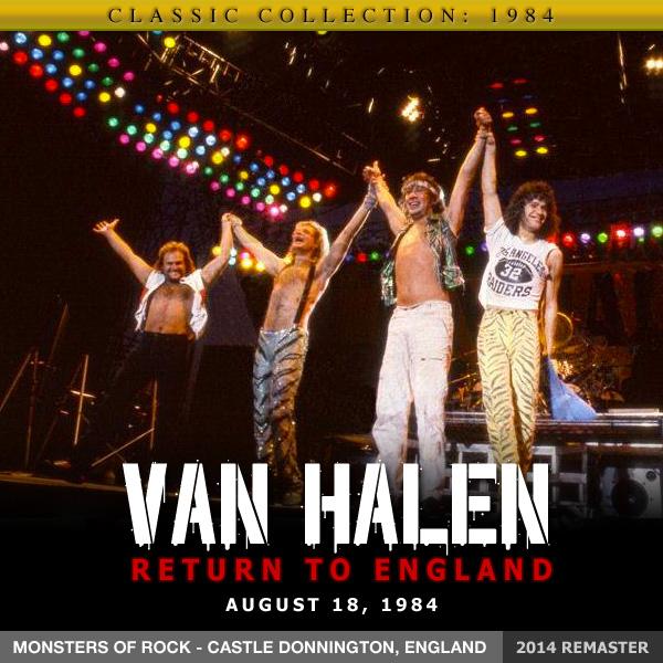 8/18/1984 Van Halen bootleg cover